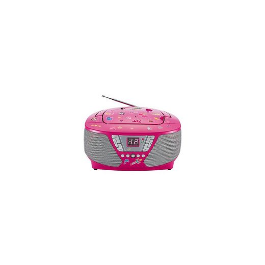BigBen CD-Player mit Radio CD60 - Kids (pink)
