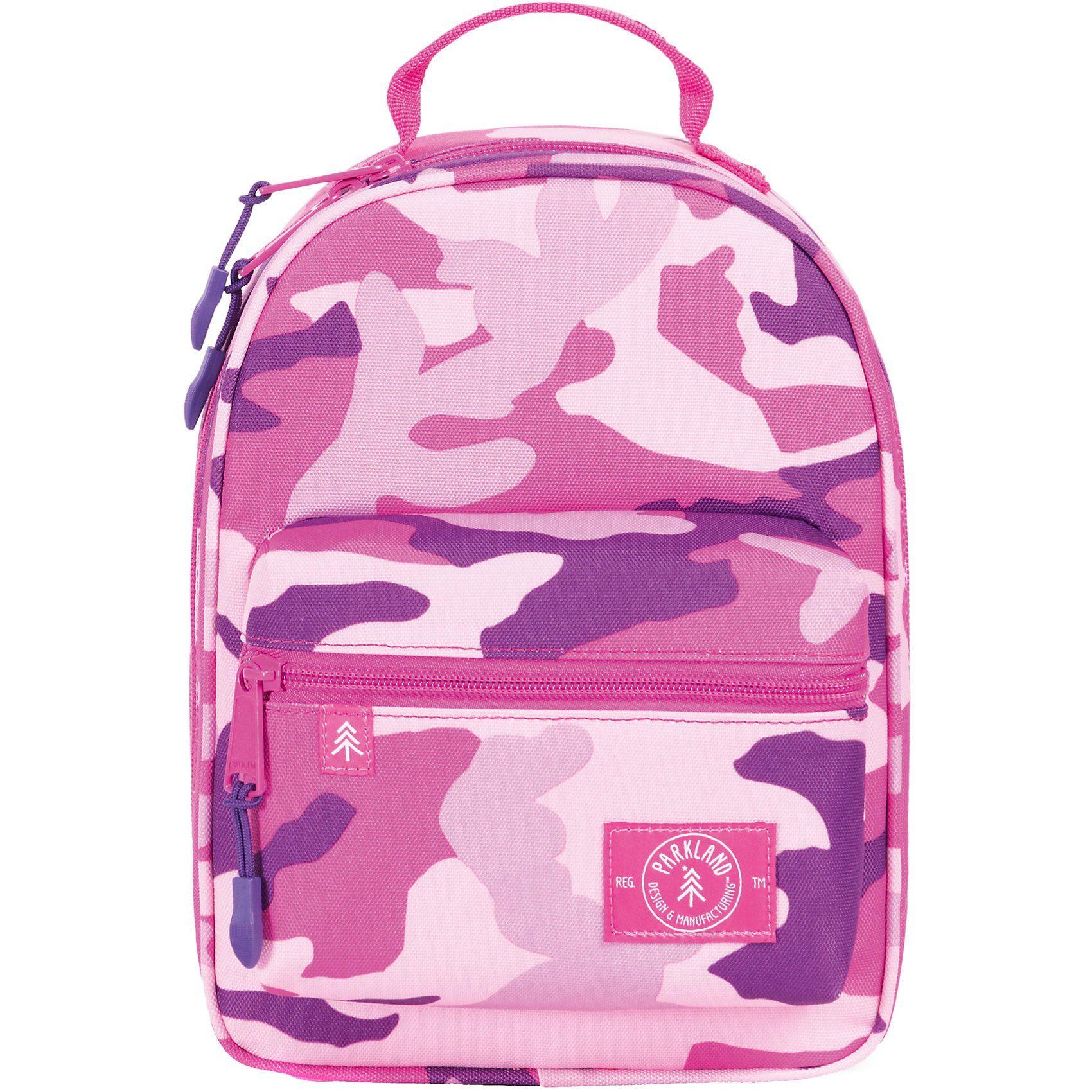 Unisex PARKLAND Kühltasche Lunch Bag THE RODEO Woodland Camo Pink rosa | 00828432199938