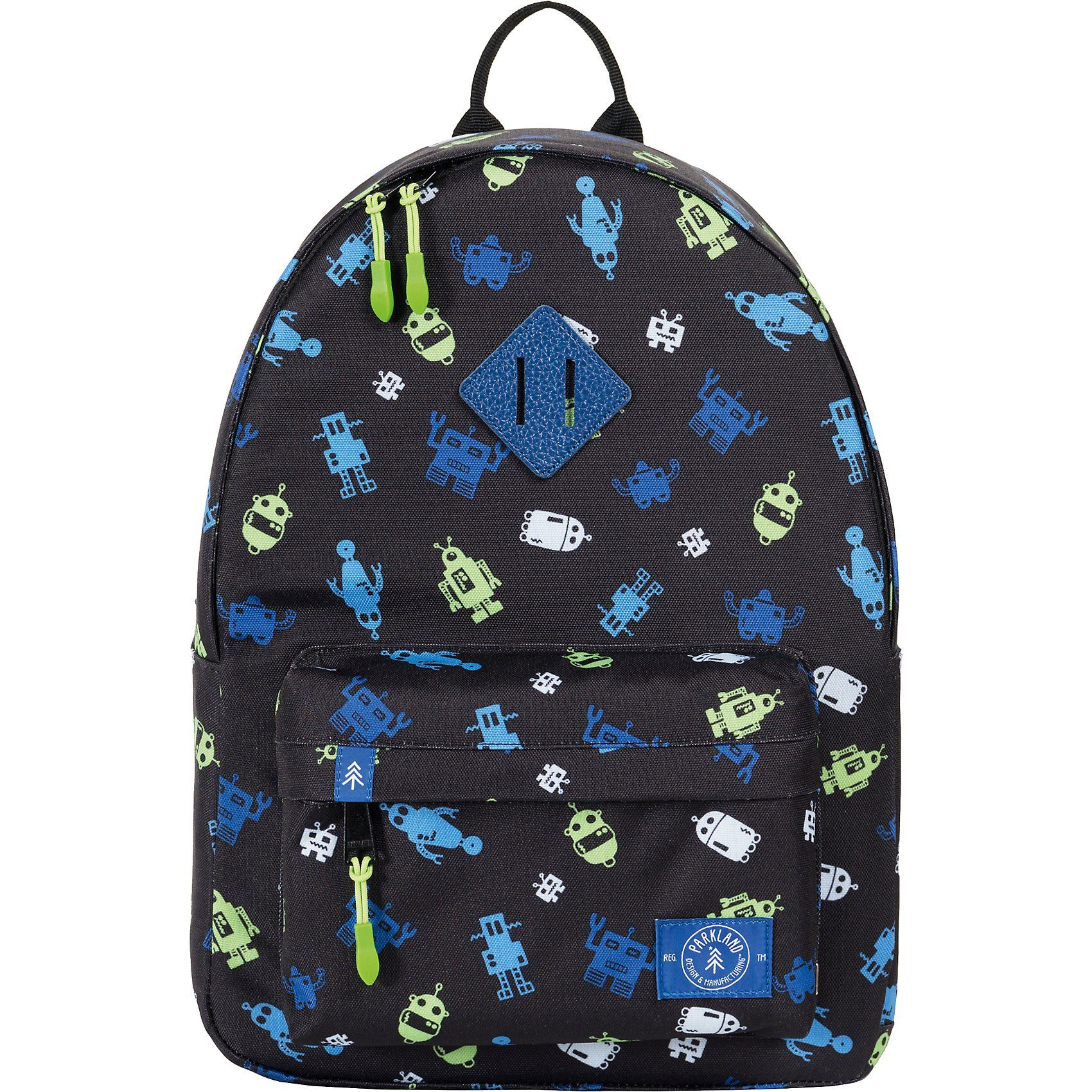 Unisex PARKLAND Kinderrucksack THE BAYSIDE Robo blau | 00828432199518
