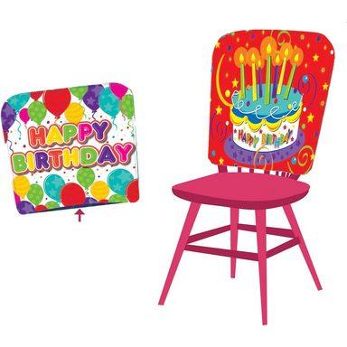 Stuhlhusse Happy Birthday