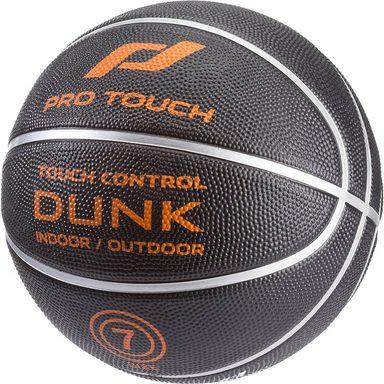 Pro Touch Basketball Dunk Gr. 5, schwarz-orange
