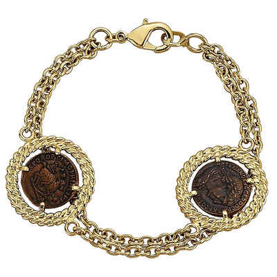 CELESTA Armband »Messing vergoldet«