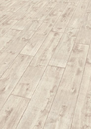 EGGER Laminat »HOME Vinstra Eiche weiss«, 1,985 m²/Pkt., Stärke: 8 mm