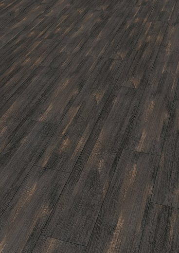 EGGER Designboden »HOME Design Oldham Eiche schwarz«, 4-Seitige Fase 1,989 m²/Pkt., Stärke: 5 mm