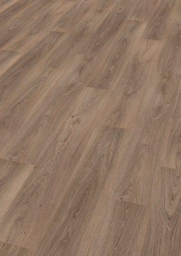 EGGER Designboden »HOME Design Eiche gekalkt grau«, 4-Seitige Fase 1,989 m²/Pkt., Stärke: 5 mm