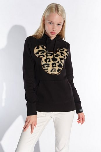 COURSE Hoodie Mickey Mouse Flock