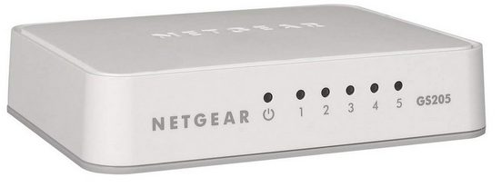 NETGEAR Switch GS205 -5 Port »Home/Office Ethernet Switches«
