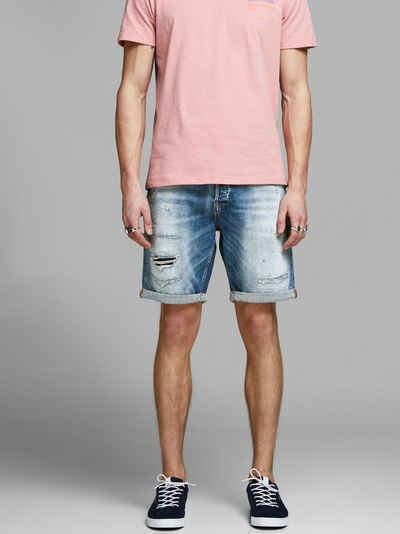 87ab55cf5a9687 Jack   Jones Zerrissene Superstretch Jeansshorts