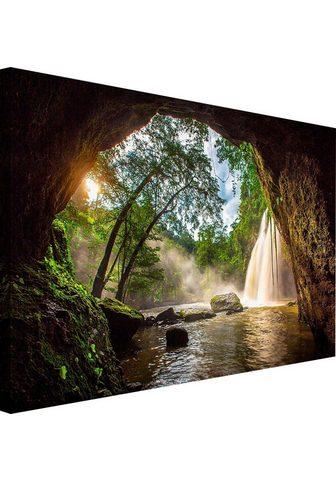 Paveikslas »Steinhöhle«