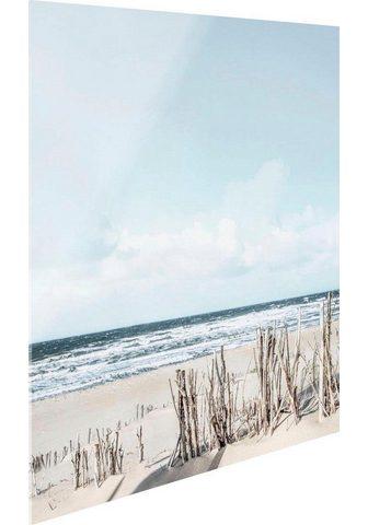 Stiklinis paveikslas »Tag ant Strand«