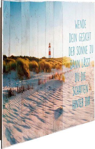 Deco-Panel »Sonne am Strand«