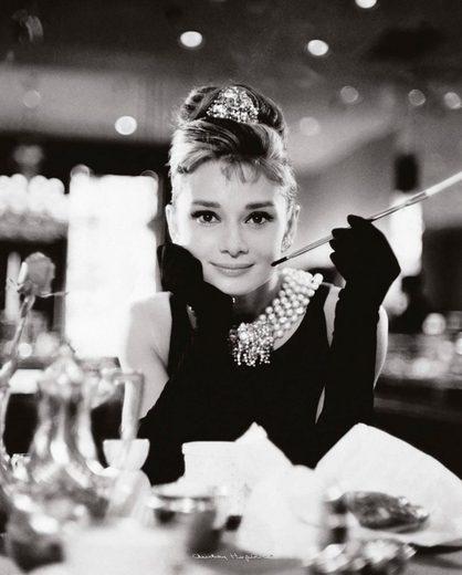 Deco-Panel »Audrey Hepburn - breakfast at tiffany's«, 40/50 cm