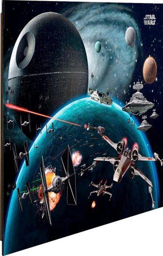 Deco-Panel »Star Wars Raumschiffe«, 50/40 cm