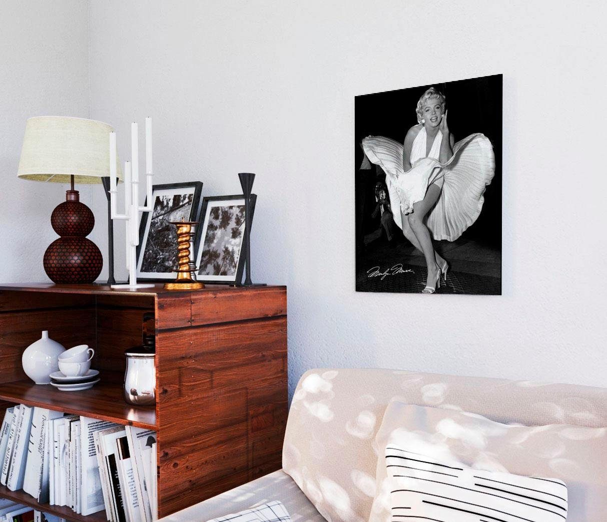 Deco-Panel »Marilyn Monroe - seven year itch«, 40/50 cm