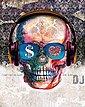 Deco-Panel »Skull DJ«, Bild 2