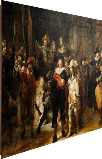 Deco-Panel »Rembrandt Die Nachtwache«, 90/60 cm