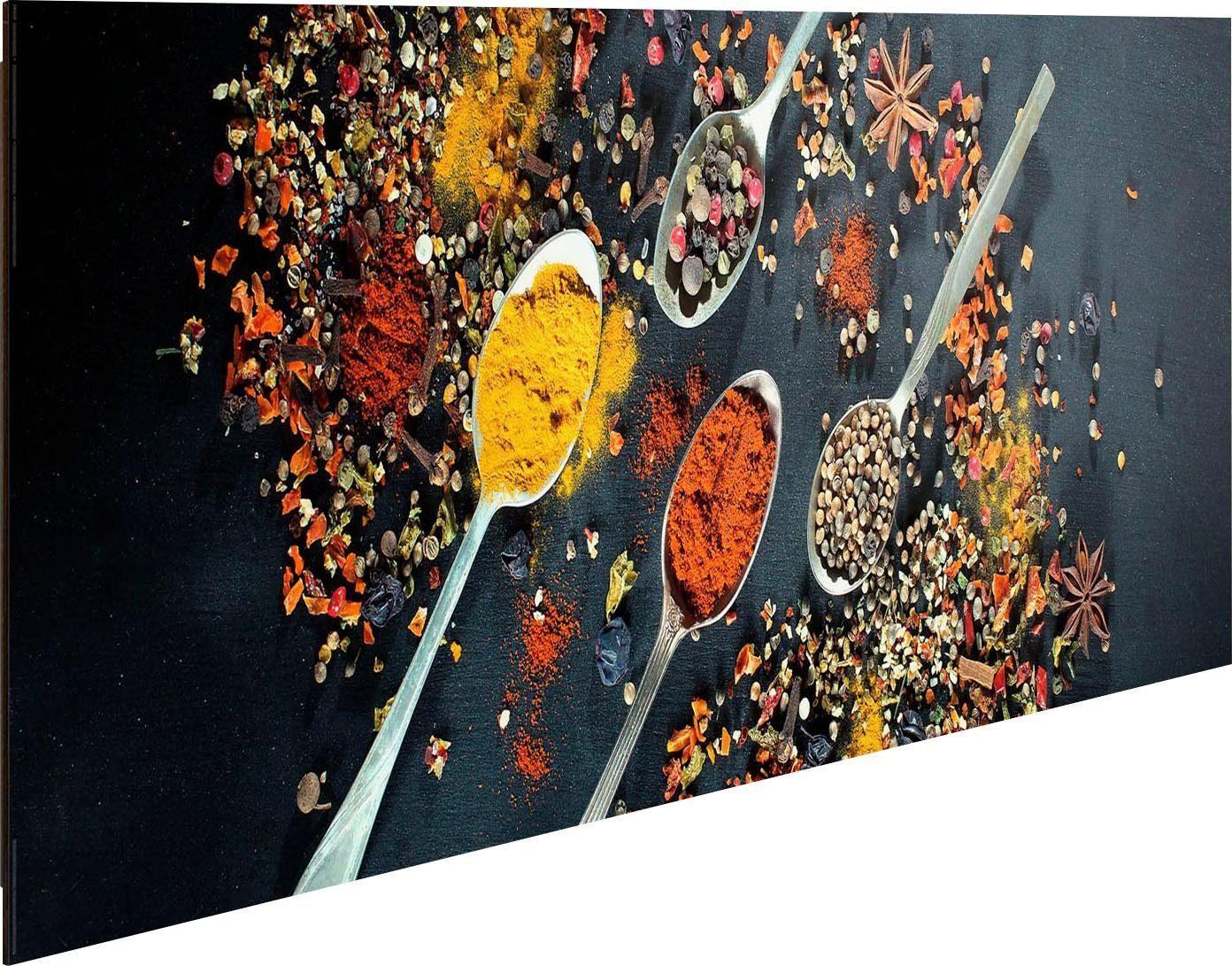 Home Affaire Deco-Panel »Gewürzküche« 90/30 cm