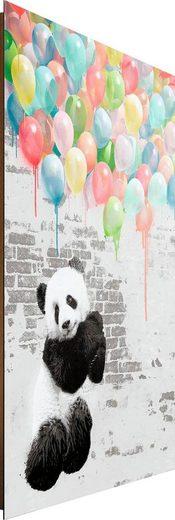 Deco-Panel »Panda Ballons «, 60/90 cm