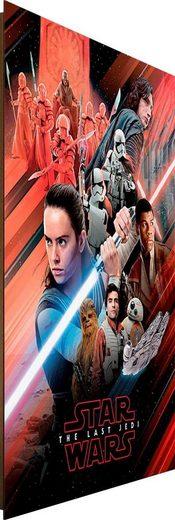 Deco-Panel »Star Wars Episode VIII Rot«, 60/90 cm
