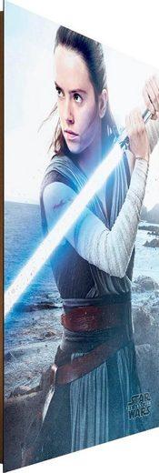 Deco-Panel »Star Wars the last Jedi Rey Engage«, 60/90 cm