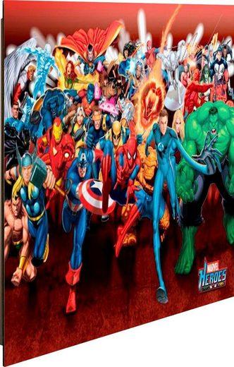 Deco-Panel »Marvel Helden«, 50/40 cm