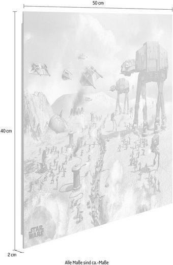 Deco-Panel »Star Wars Fahrzeuge«