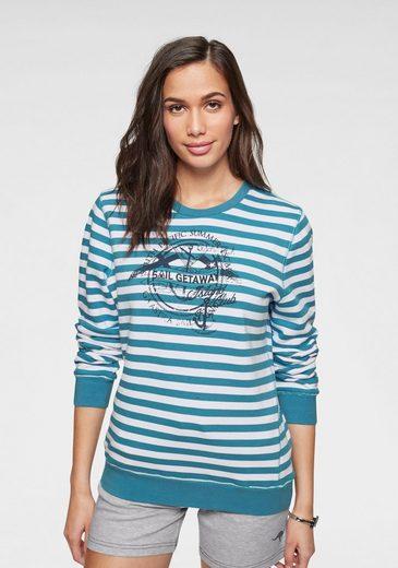 Gaastra Sweatshirt im modischem Streifen-Look