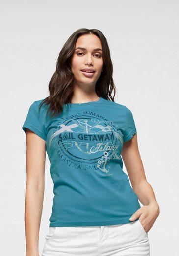 Gaastra T-Shirt mit maritimen Frontdruck