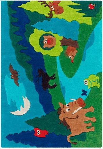 Kinderteppich »Sam 4160«  Arte Espina  rechteckig  Höhe 11 mm