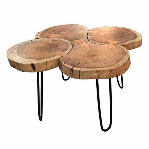 Pharao24 Tisch »Jerome«  mit Baumkante