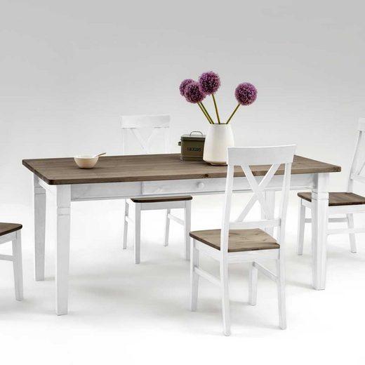 Pharao24 Tisch »Sandra«, mit Stauraum