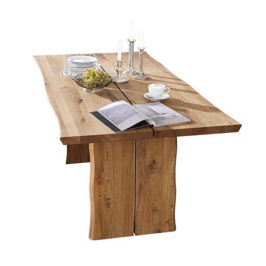 Pharao24 Tisch »Agata«, mit Baumkante