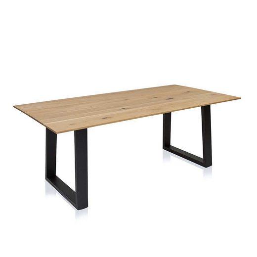 Pharao24 Tisch »Anjo«, aus Massivholz