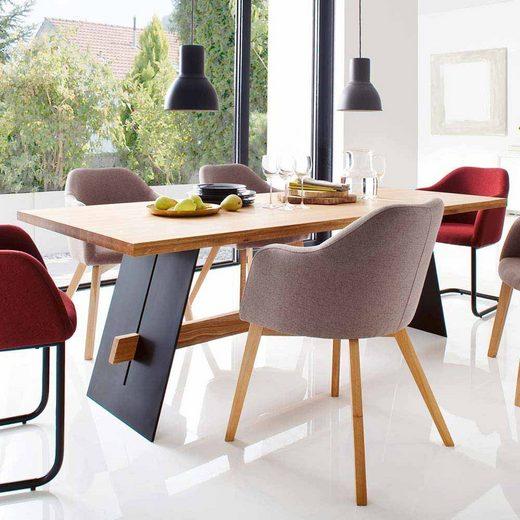 Pharao24 Tisch »Henkul«, aus Massivholz
