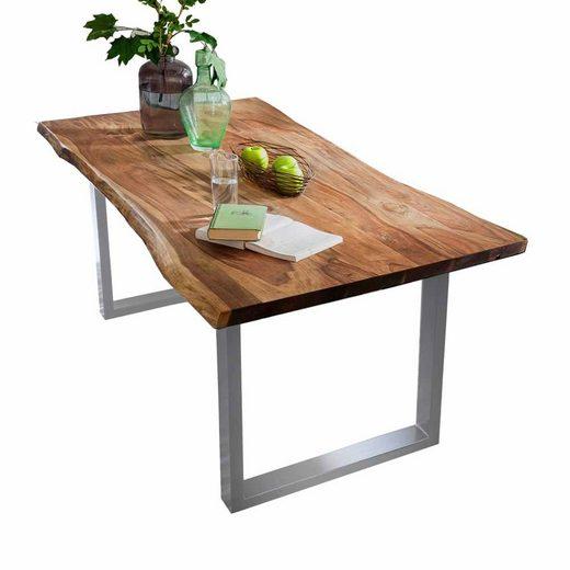 Pharao24 Tisch »Leane«, mit Baumkante