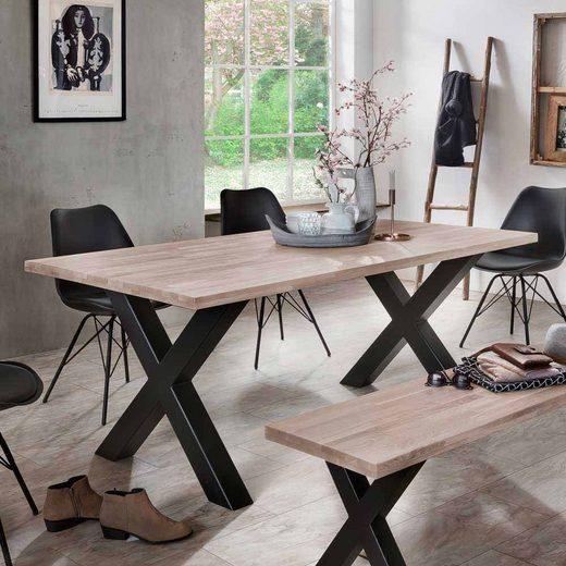 Pharao24 Tisch »Castellon«, aus Massivholz