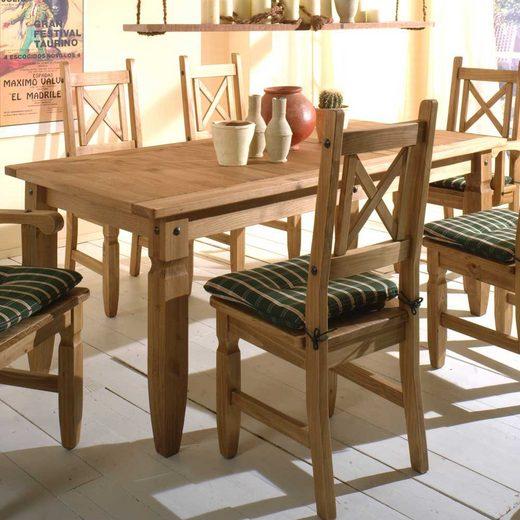 Pharao24 Tisch »Xasimir«, aus Massivholz