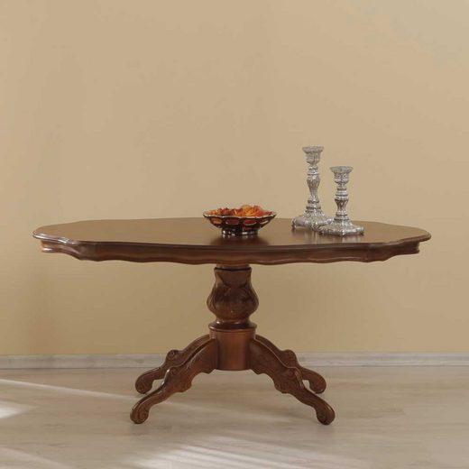 Pharao24 Couchtisch »Enera«, mit gebogener Tischplatte