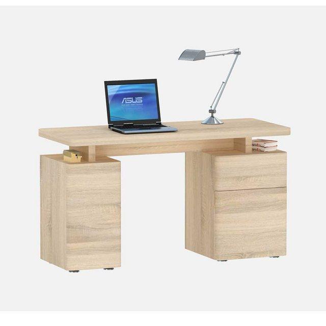 Schreibtische - Pharao24 Schreibtisch »Griffina«, mit Stauraum  - Onlineshop OTTO