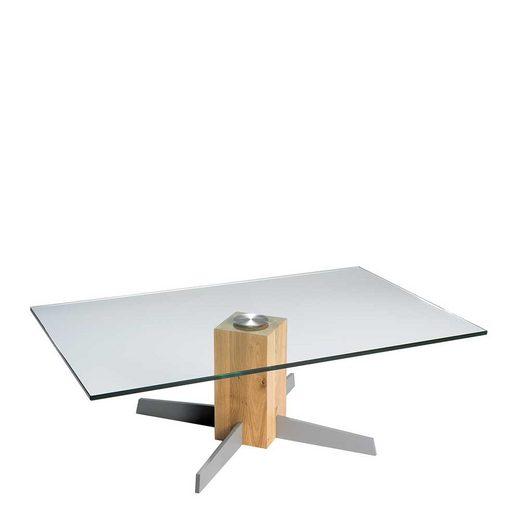 Pharao24 Glastisch »Edicenza«, aus Massivholz