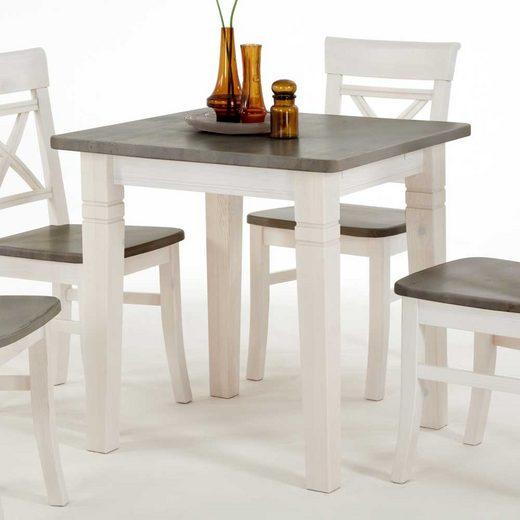 Pharao24 Tisch »Rattana«, aus Massivholz