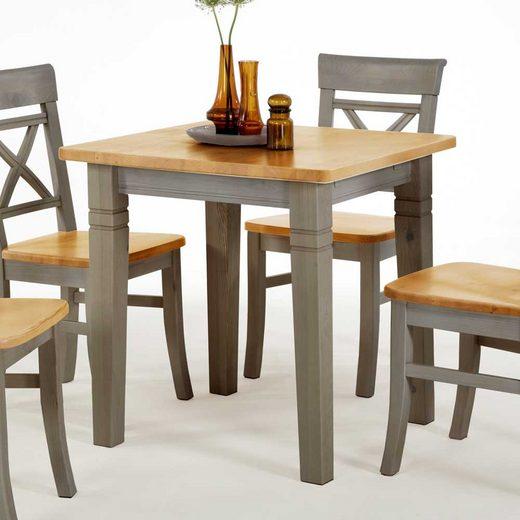 Pharao24 Tisch »Barret«, aus Massivholz