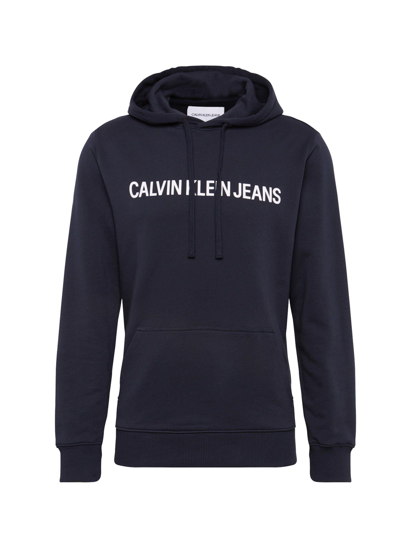 Calvin Klein Kapuzensweatshirt »INSTITUTIONAL REG HOODIE«