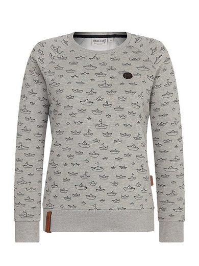 naketano Sweatshirt »One on da side«