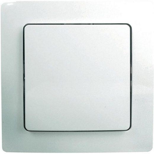 Z-Wave Smart Home Zubehör »Rahmen und Einzelwippe für ZME_WALLC-S«