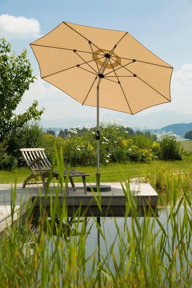 Schneider Schirme SCHNEIDER SCHIRME Sonnenschirm Venedig O 270 Cm Neigbar Ohne