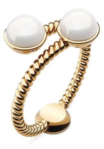PAUL HEWITT Perlenring »Rope, PH-FR-ROPE-G-50,52,54,56,58«, mit Perlen imit.