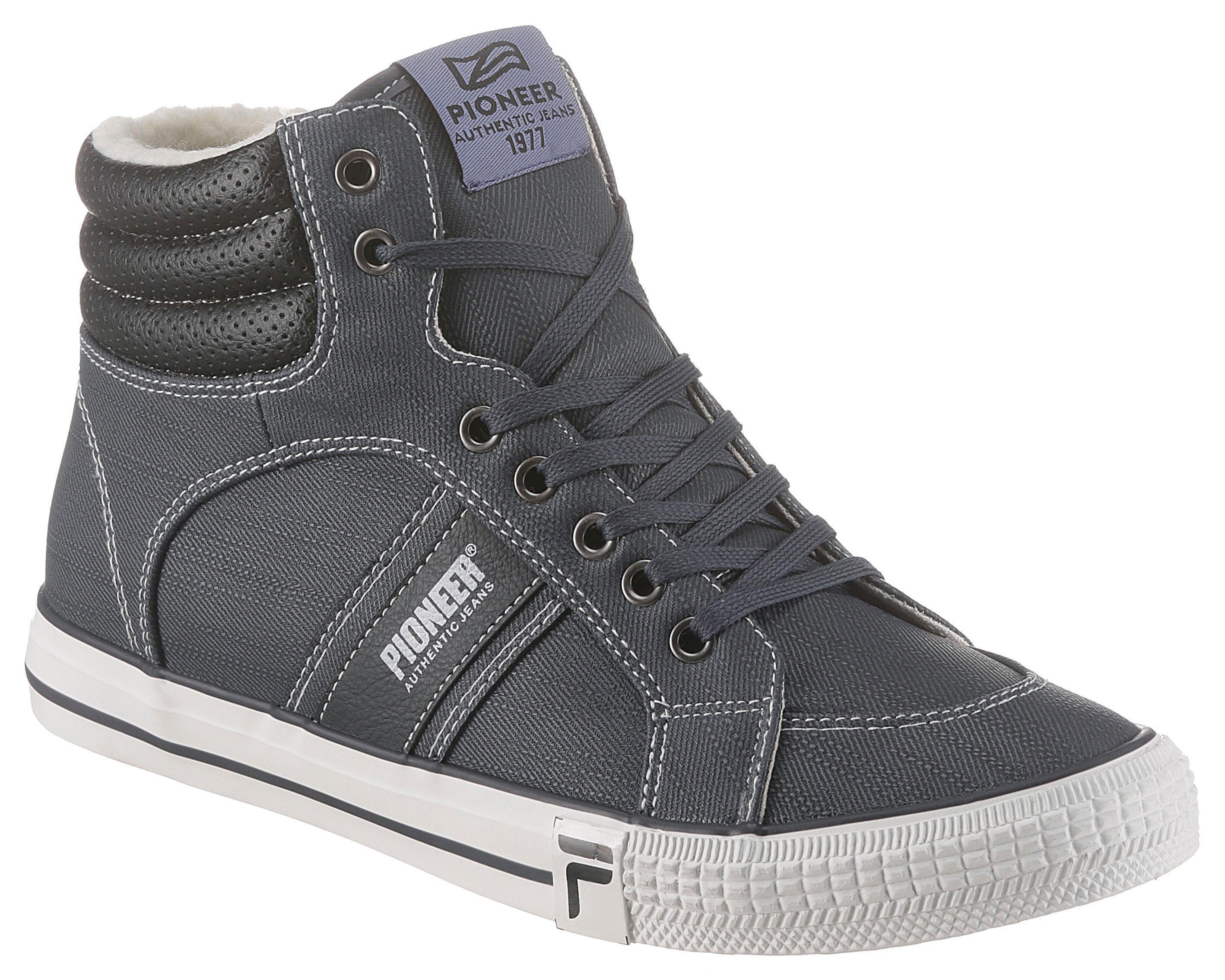 Pioneer Authentic Jeans Sneaker mit kuscheligem Warmfutter online kaufen | OTTO