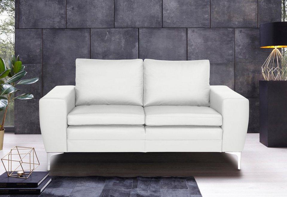 Places Of Style 2 Sitzer Twigo In Echtleder Mit Hohem Sitzkomfort Online Kaufen Otto