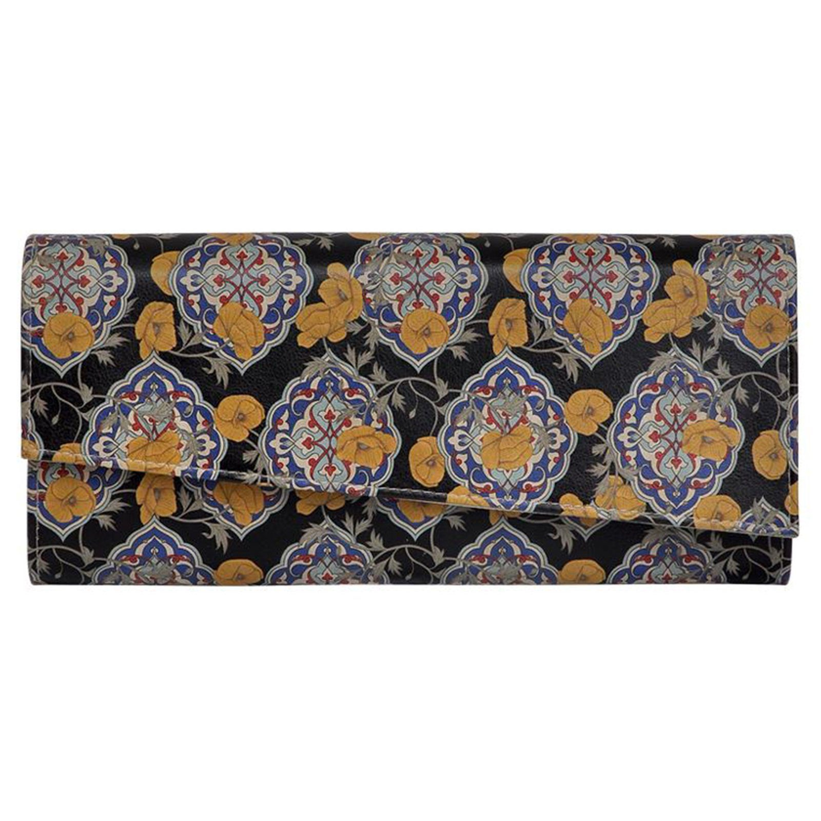 DOGO Clutch »Tiles and Flowers«, Vegan
